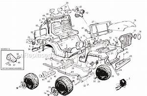 hood latch diagram for 1939 hood free engine image for With power wheels jeep