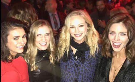 the diaries cast attends wrap dobrev