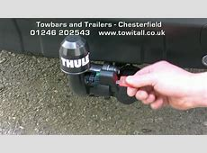 Towbar Video Peugeot 4007 Thule Brink Detachable YouTube