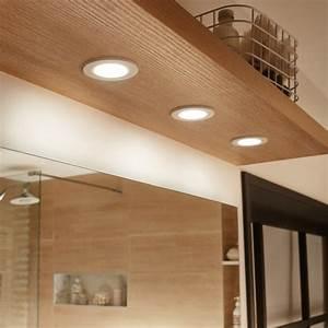 kit 3 spots a encastrer salle de bains bazao fixe inspire With carrelage adhesif salle de bain avec spot a led encastrable interieur