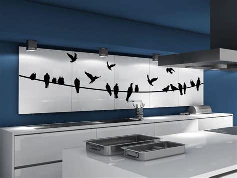 Wanddeko Küche Bilder by Stromleitung Mit Vogelschwarm V 246 Gel Auf Der Leine