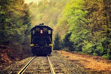 scenic photographs   railroad track