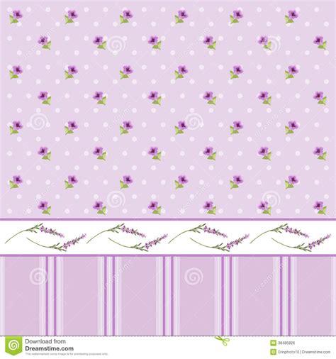 Floral Wallpaper 2 Stock Vector Image Of Design Little