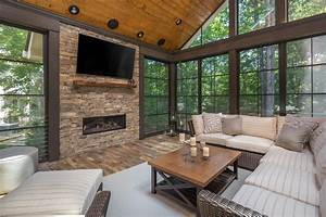 15, Staggering, Rustic, Sunroom, Designs, You, Would, Never, Get, Tired, Of