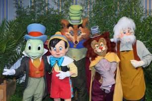 Pinocchio at Disneyland