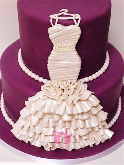 Shower Bridal Cake Lavender Drape Cakes Customized