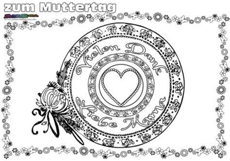 muttertag mandala herz ornament ausmalen babyduda