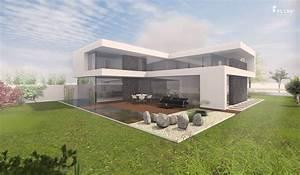 Moderne Häuser Mit Pool : modernes einfamilienhaus bauhausstil in berlin bauen ~ Markanthonyermac.com Haus und Dekorationen