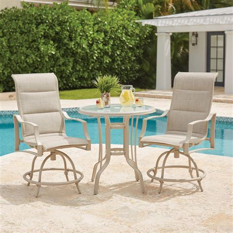 hton bay 3 patio set 28 images hton bay belleville 7