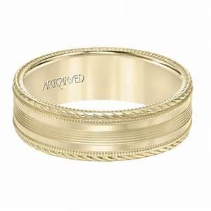 Fuller39s jewelry artcarved artcarved men39s wedding band for Artcarved rings wedding bands