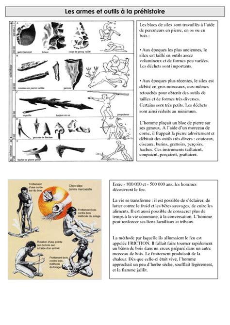 armes et outils 224 la pr 233 histoire exercices ce2 cycle
