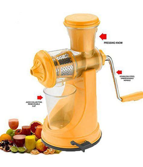 juicer manual yellow