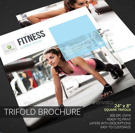 Fitness Brochure Design by 50 Top Psd Brochure Template Designs 2016 Web Graphic