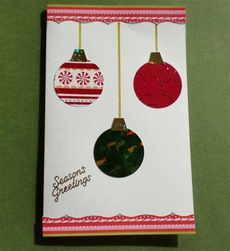 christmas ornament card think crafts by createforless