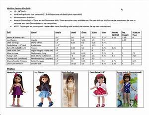 74 Best Dolls Size Comparisons Images On Pinterest