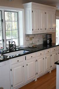 white kitchens with black countertops white cabinets With kitchen designs with white cabinets and black countertops