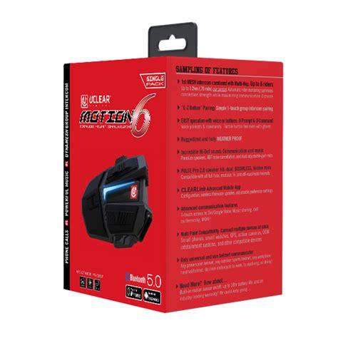 Motion Bluetooth Helmet Audio System Single Kit