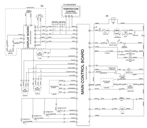 ge refrigerator schematic diagram  wiring diagram source