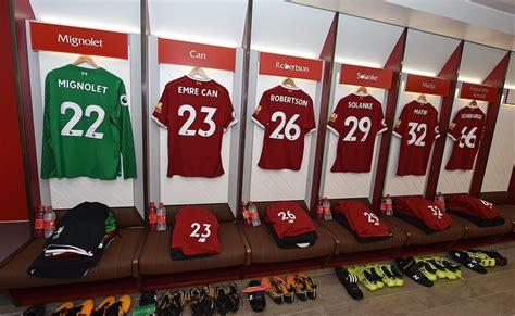 """Последние твиты от liverpool fc room (@liverpoolfcroom). Liverpool FC on Twitter: """"📸 Inside the #LFC dressing room ..."""
