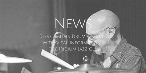 Steve Smith's Drum Cam View With Vital Information @ The