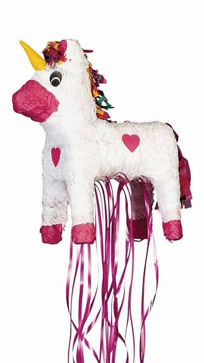 Pinata Licorne Unicorn Mademoiselle Blanche Rose