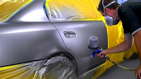 how to blend metallic car paint youtube