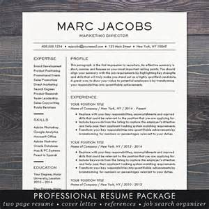 simple easy resume template free modern resume template cv template for word mac or pc