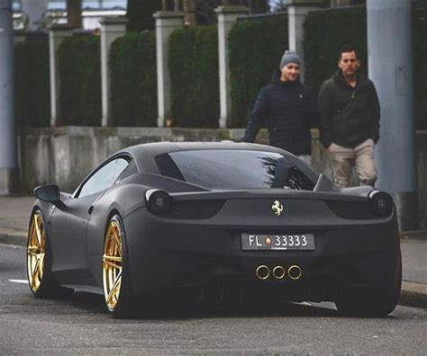 Posted by admin posted on july 27, 2019 with no comments. Matte Black Ferrari 458 Italia   Autazos   Coches deportivos, Coches y motocicletas y Coches de lujo