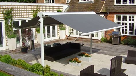 freestanding patio awnings