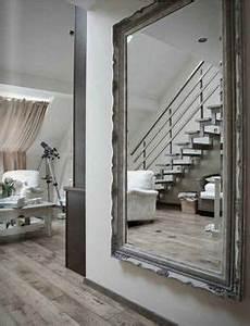 miroir louis philippe 140 cm de haut wwwmadamelabroc With deco mur exterieur maison 3 le miroir mural grande taille accessoire pratique et