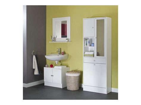 meuble bas de salle de bain conforama