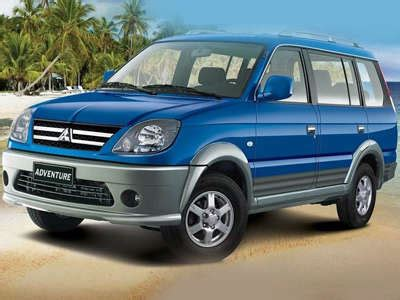 sports car rental philippines mitsubishi adventure for price list in the