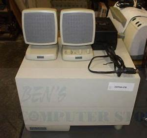 Jbl Creature Speakers White Powered Subwoofer Satellite 2