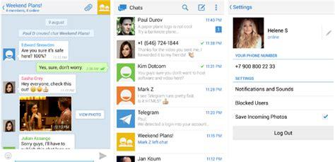 todos los clientes de telegram para android escritorio y web