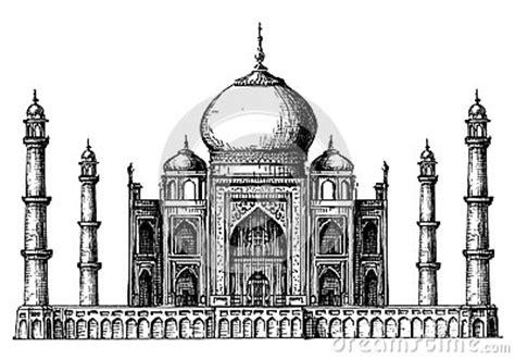 taj mahal logo design template india  hindu stock