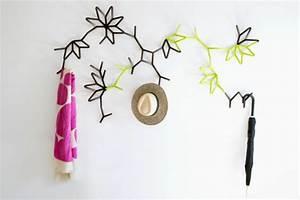 Porte Manteau Mural Design : choisissez un porte manteau mural originel ~ Teatrodelosmanantiales.com Idées de Décoration