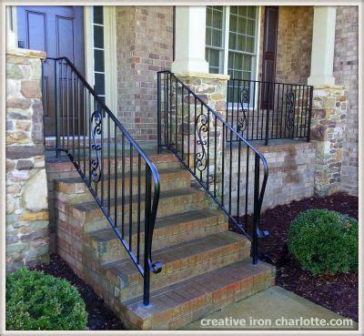 metal porch railing creative iron designs