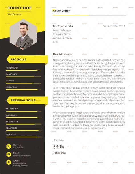 Portfolio Cv by Xpro Modern Resume Cv Portfolio By Suavedigital