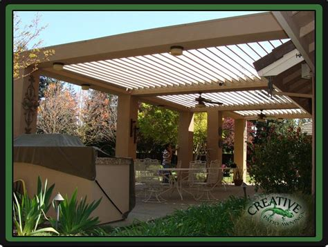 Louvered Patio Cover Diy by 17 Best Images About Patio Covers On Backyards
