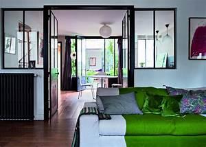 Salon Vert D Eau : salon vert nos inspirations marie claire ~ Zukunftsfamilie.com Idées de Décoration