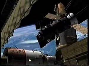MIR Space Station collision - YouTube