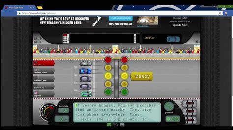 Nitro Type Race Gameplay #1