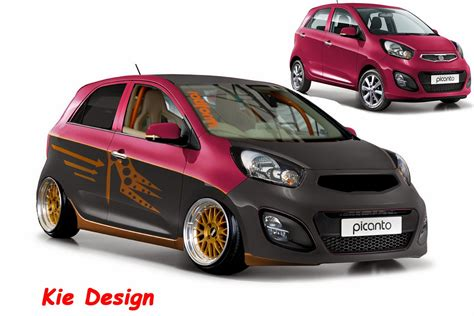 Gambar Mobil Gambar Mobilkia Picanto by Contoh Stiker Keren Studio Design Gallery Best Design