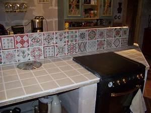 Peindre Faience Cuisine : peindre plan de travail carrele cuisine 7 leroy merlin houdemont carrelage faience salle de ~ Melissatoandfro.com Idées de Décoration