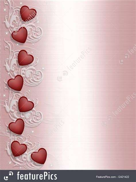 valentines day border elegant illustration