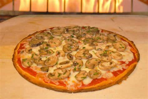 pizza aux champignons thermomix  delice du thermomix