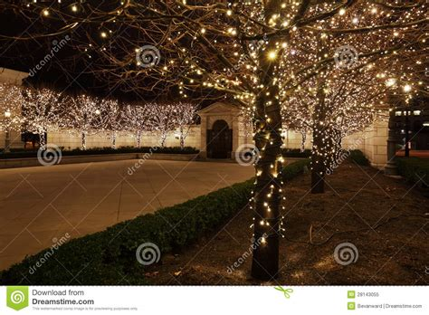 fairy lights  courtyard royalty  stock photo image