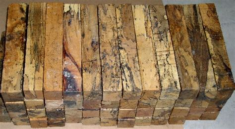 Spalted Tamarind From Griffin Exotic Wood
