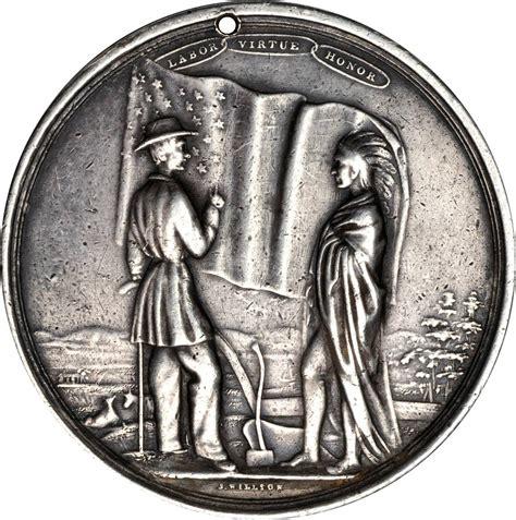 franklin pierce indian peace medal buyers