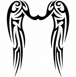 tribal wings | Tattoos | Pinterest